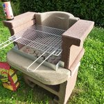 A handy barbecue grill