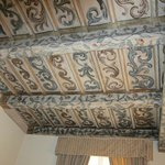 16th-century painted ceilings in Rome room