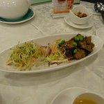 vegetarian food at King Tak Lam - that looks like non-veg! - starters