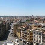 Vue panoramique depuis la terrasse du restaurant