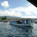 Dive boat at Lembeh