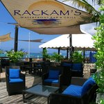 rackams waterfront bar and restaurant Cayman islands rackhams