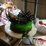Spongecake for dessert at Dinner - awesome!!!