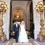 Our wedding in Paris.
