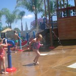 Waterplay area was so much fun!