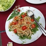 fantastic pasta and great rustic presentation