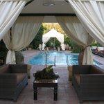 stunning pool area