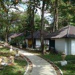 les bungalows island resort