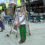un restaurent sur la plage