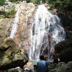 la cascade  de l'ile