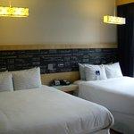 Des chambres calmes et design