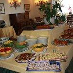 Just a sample of the breakfast buffet! Fresh OJ is the best!