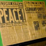 NEWSPAPERS FROM THE END OF WORLD WAR II