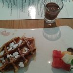 Waffle with Begian Chocolate
