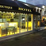 Hotel Front View - Espresso Coffee/Bar Area