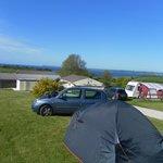 View of Penhale Campsite, near Fowey