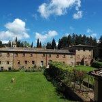 """il convento di S. Vivaldo, visto dalla """"Gerusalemme"""""""