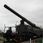 One of the two surviving K5 Railway Guns on-hand here!