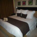 massive bed