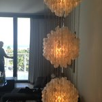 I loved the lighting fixture!