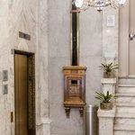 Elevator & Mail Shute