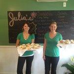 Julia and Katelyn
