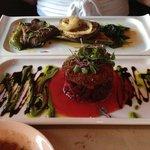 Beet Salad & Fresh Grilled Vegetables
