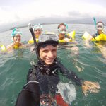 Snorkel tour!!! Our adventure in the ocean!!! fun In the waves and all.