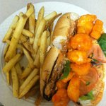 Buffalo Shrimp Po Boy