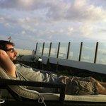 De relax en el chill out!!!