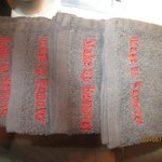 Face towels stating Make Up Remover
