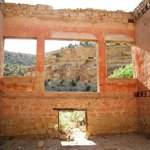 Sego store in ghost town from the inside