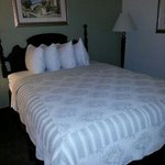 Nice quilts and pillows. Room 225