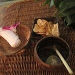 웰컴드링크와 바나나칩