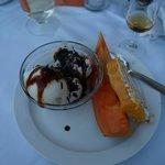 Dessert is og frugt