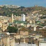 Vue de la terrasse sur la mosquée Karaouine