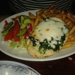 Chicken & spinach - very tasty!