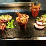 surf and turf from the hungry duck specials