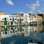 Porto Petro, one of many fishing villages near Son Antem.