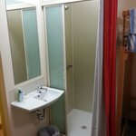 The bathroom, room 402
