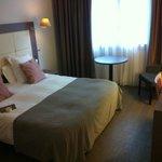 Chambre très spacieuse avec un couchage excellent!