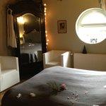chambre nuit étoilée- lit 160 par 200