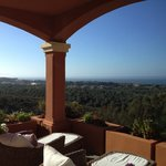 Desde la terraza de Marbella Heights Hotel