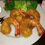 Prawn Tempura only at Roomali fine dining