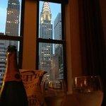 Vue sur le Chrysler Building depuis la Junior Suite 1607