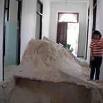 Digging for treasure at Hostal Zocalo's Progresso property.