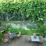 vue sur le jardin