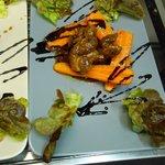 Sauté de canard aigre doux au 5 épices chinoises