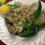 Linguini w/white clam sauce