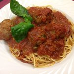 Spaghetti w/meatballs
